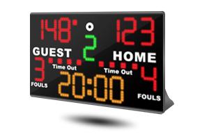 tabletop multisport electronic scoreboard