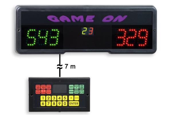 LED Electronic Darts Scoreboard