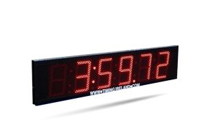 led countdown clock hire
