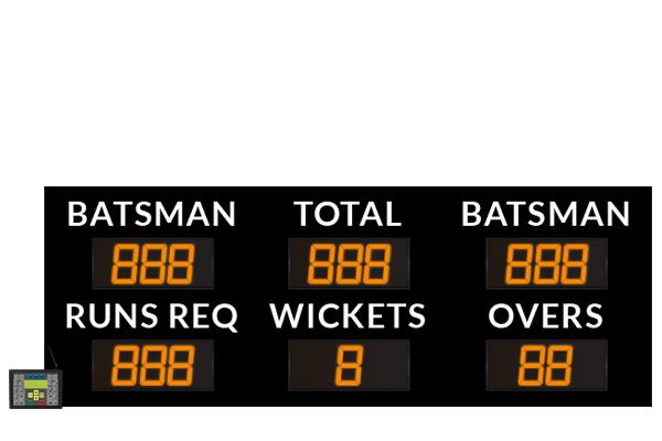 LED Electronic Cricket Scoreboard