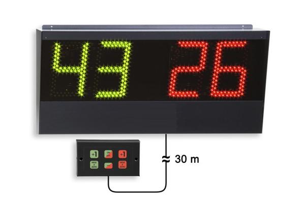 led electronic badminton scoreboard