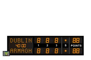 led tennis electronic scoreboard