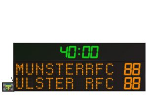 LED Rugby Scoreboard 10 Digit