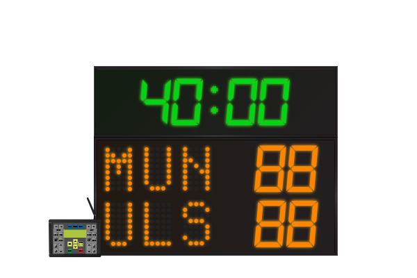 LED Rugby Scoreboard 3 Digit