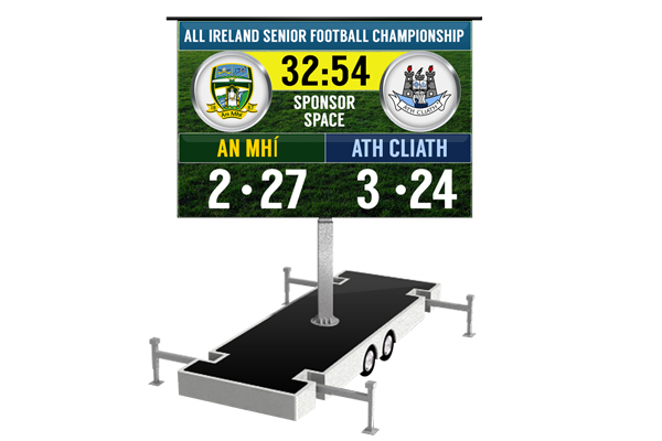 Stadium Scoreboard Hire