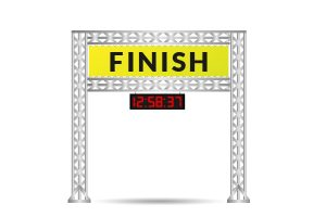 start finish gantry hire