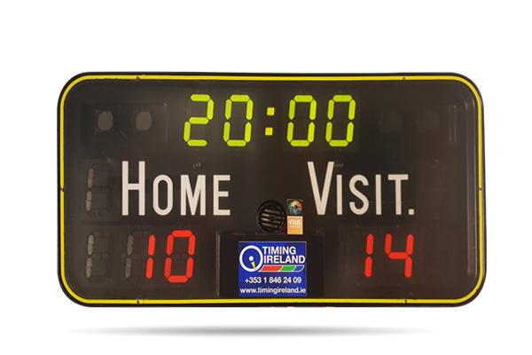 wall mounted basketball scoreboard to hire