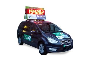 LED Lead Car Clock Hire