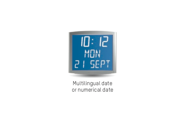 Timing Ireland Cleanroom Clocks With Lcd Digital Or