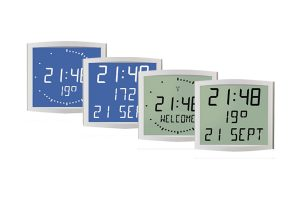lcd clean room clocks