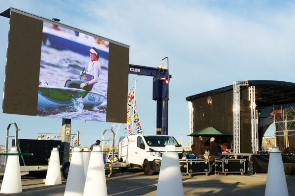 homecoming events big screen hire