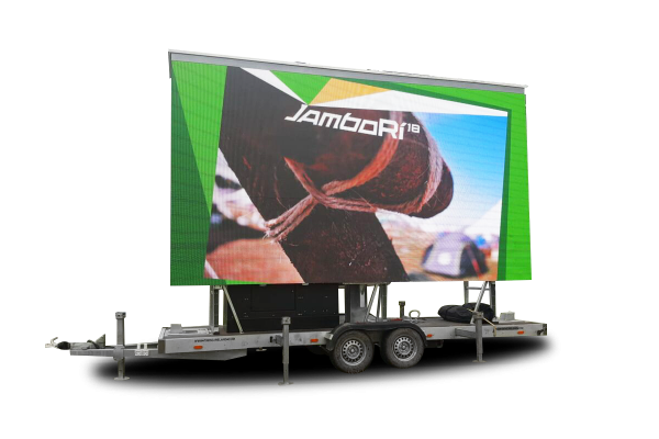scout jambori big screen hire