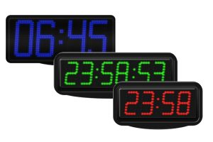 led time temperature displays