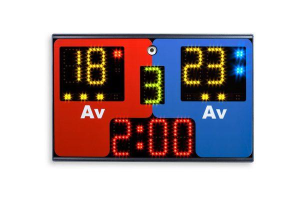 tabletop wrestling scoreboard 1