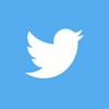 twitter logo circle