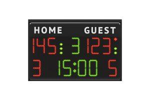 waterpolo scoreboard Ti-50H15 1