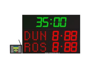 led gaa scoreboard fg 3 red