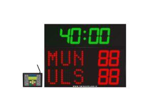 led rugby soccer hockey scoreboard rg 3