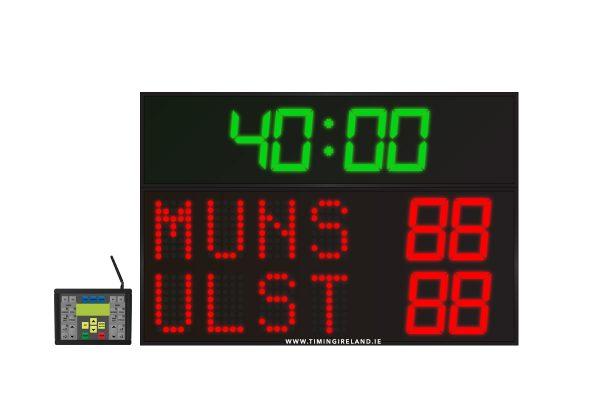 led rugby soccer hockey scoreboard rg 4
