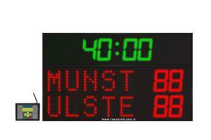led rugby soccer hockey scoreboard rg 5
