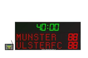 led rugby soccer hockey scoreboard rg 8