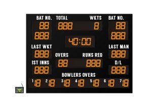 led cricket scoreboard cs 4 2019