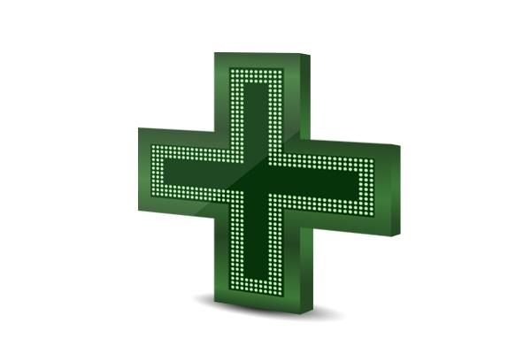 LED pharmacy cross PM3L